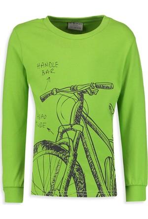 LC Waikiki Erkek Çocuk Bisiklet Yaka T-Shirt