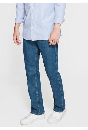 Mavi Erkek Klasik Kesim Mavi Jean Pantolon