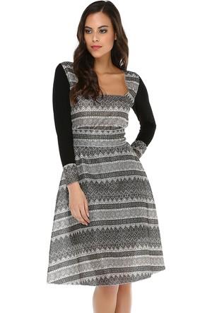 Quincey Kadın Etnik Desenli Elbise