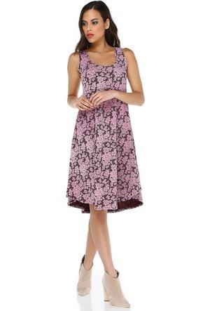 Quincey Kadın Dantel Dokulu Elbise