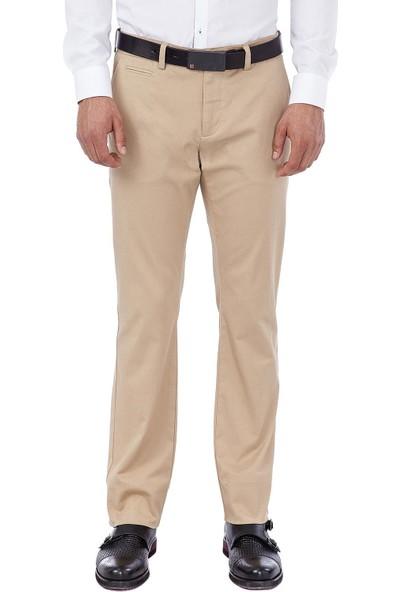 AVVA Bej Erkek Dokuma Chino Basics Pantolon B003556