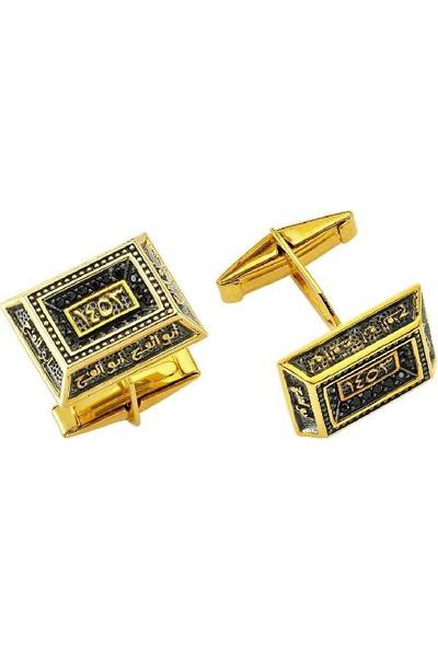 Altınbaş Altın Erkek Hanedan Kol Düğmesi Kldo003-24708