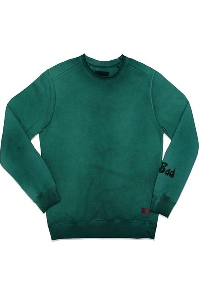 Bad Bear Sweatshirt Oil Wash