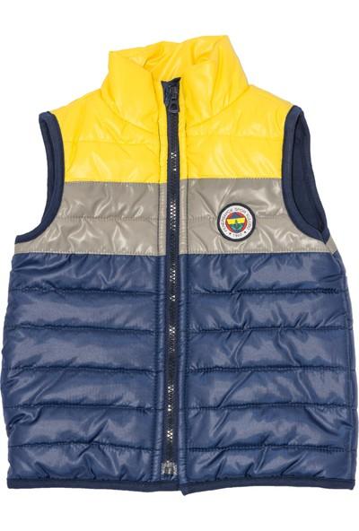 Fenerbahçe Lisanslı Unisex Çocuk Micro Yelek Lacivert