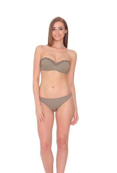 Dagi Tasarım Straplez Kaplı Bikini