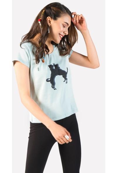 Clandestino Baskılı Tshirt