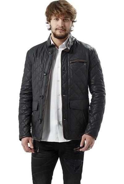 Deriza Celso Erkek Deri Ceket