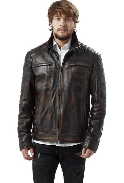 Deriza Lorenzo Vintage Deri Ceket