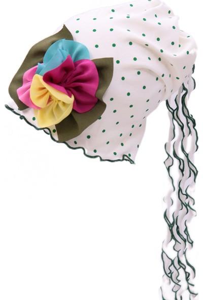 Babygiz Çiçek Aksesuarlı Şapka Ns0099