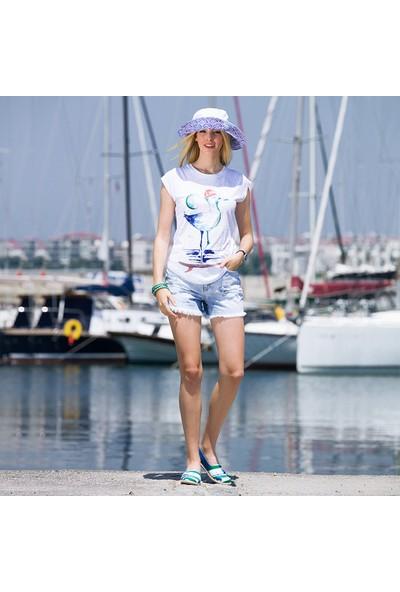 Biggdesign AnemosS Gemici Martı Kadın T-Shirt