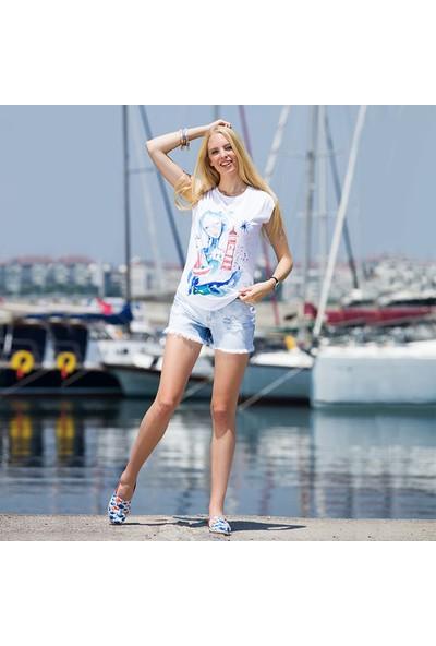 Biggdesign AnemosS Fenerci Kız Kadın T-Shirt