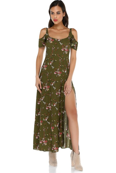 Quincey Kadın Maxi Elbise