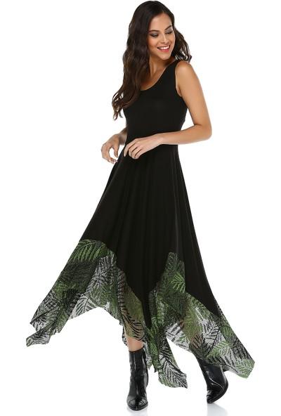 Quincey Kadın Asimetrik Elbise