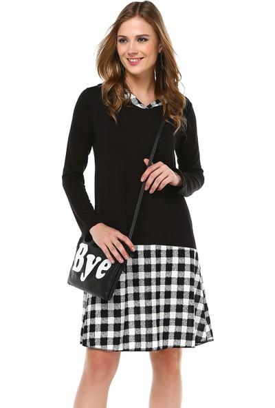 Quincey Kadın Kapüşonlu Elbise