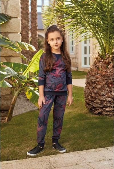 Feyza 3220 Kız Çocuk Uzun Kol Pijama Takımı