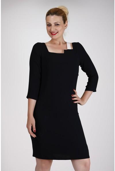 Sevgi Sert Bayan Elbise 124
