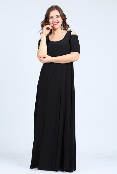 Kl1101U Siyah Abiye Elbise