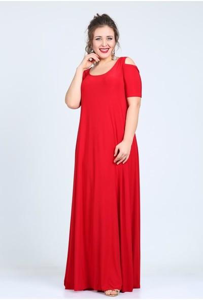 Kl1101U Kırmızı Abiye Elbise