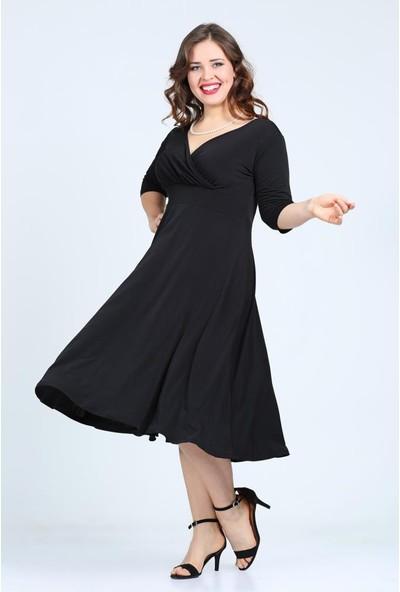 Kl8003 Siyah Abiye Elbise