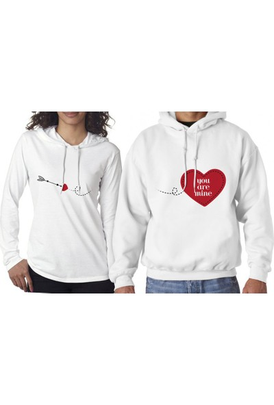 Hediye Mucidi You Are Mine Sevgili Sweatshirt
