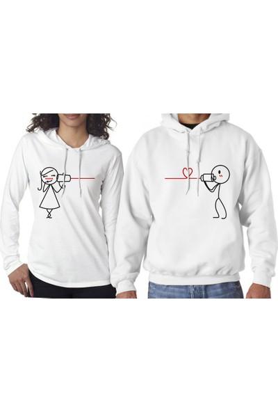 Hediye Mucidi Seni Seviyorum De Sevgili Sweatshirt