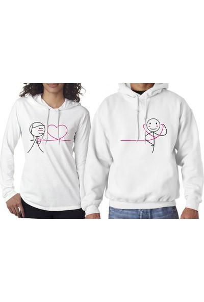 Hediye Mucidi Kalbim Senin İçi Atıyor Sevgili Sweatshirt