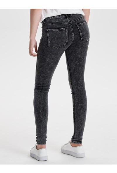 Only Kadın Kot Pantolon 15138875 Raın Reg Random Grey Skınny Fit Jeans