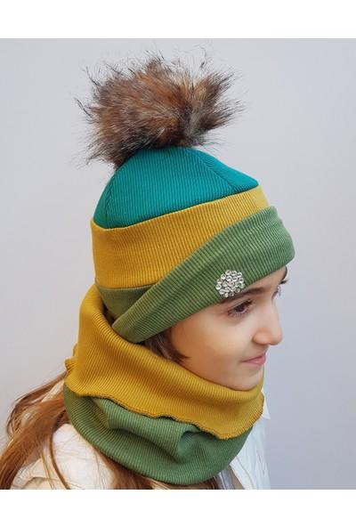 Babygiz Şapka Boyunluk Takım Nsb003