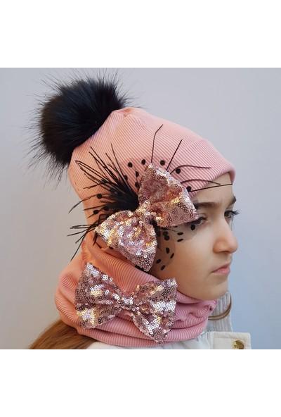 Babygiz Şapka Boyunluk Takım Nsb036