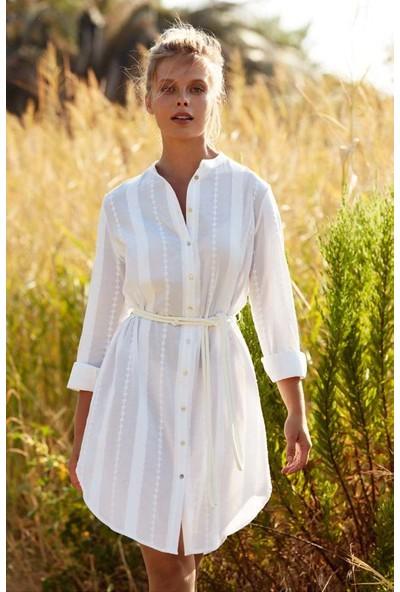 Penye Mood 8376 Uzun Kol Elbise