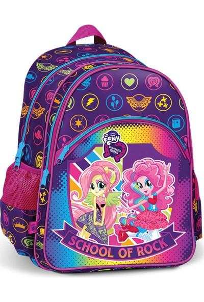 Mlp Equestria Girls 43063 Pembe Mavi Kız Çocuk Okul Çantası