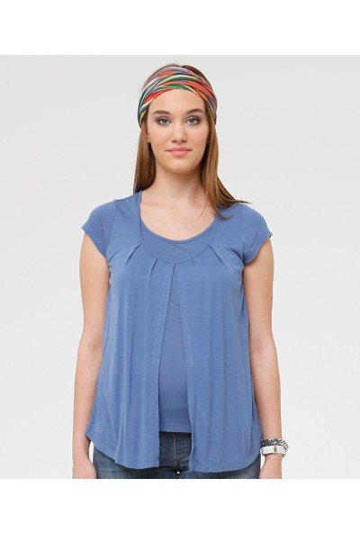 Hooyo İndigo T-Shirt Omega