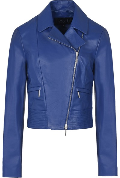 Armani Jeans Kadın Deri Ceket 3Y5B105L06Z