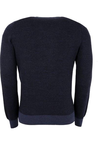 Gran Sasso Erkek Sweatshirt Lacivert 5715914228