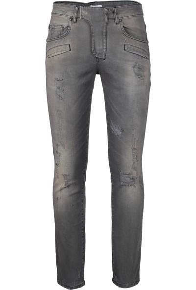 Pierre Balmain Jeans Erkek Kot Pantolon Siyah HP57204JI7257