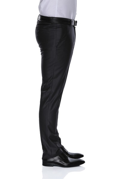 Buenza 120S Slim Fit Pantolon-Füme