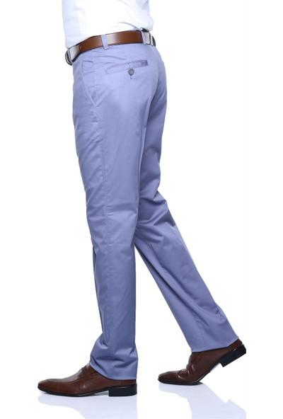 Buenza Soho Yan Cep Slım Fıt Pantolon - Mavi