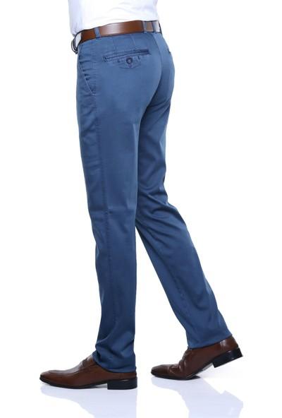 Buenza Martin Sulfur Yan Cep Slim Fit Pantolon - Mavi