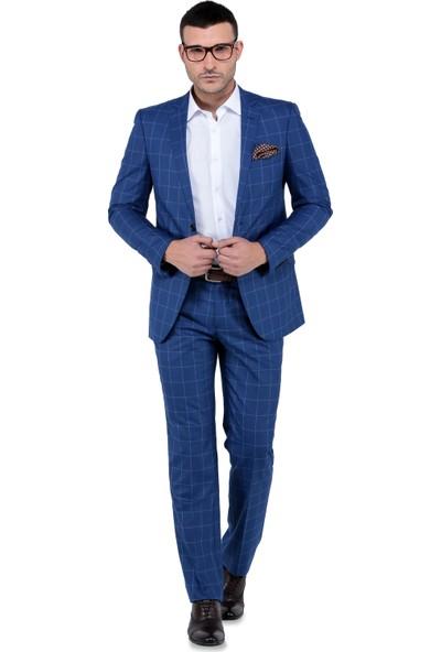Buenza Miami Mono Tk Yrt 8 Drop Takım Elbise-Mavi