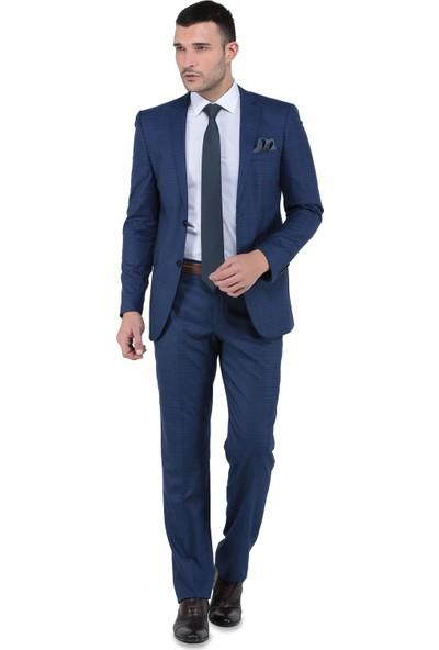 Buenza Santorini Mono Tk Yrt 8 Drop Slim Fit Takım Elbise-Parlament