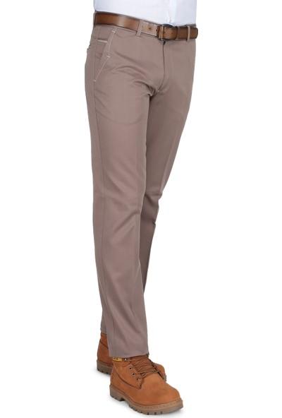 Buenza Art 2500 Pilesiz Pantolon - Toprak