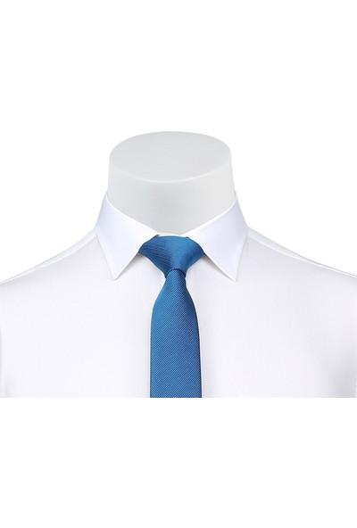 Buenza Coton Uzun Kol Gömlek - Krem