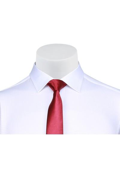 Buenza Sry 4197 Uzun Kol Klasik Gömlek - Beyaz