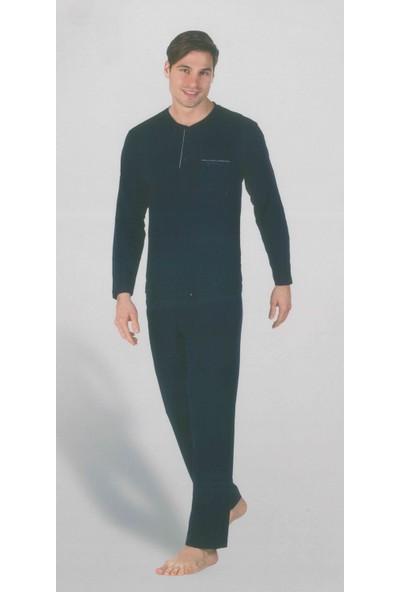 Pierre Cardin 5265 Uzun Kollu Erkek Pijama Takımı