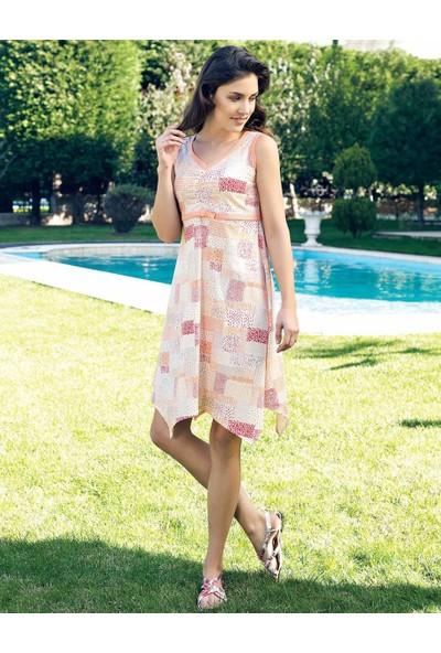 Şahinler Yazlık Kadın Elbise MBP24015-1