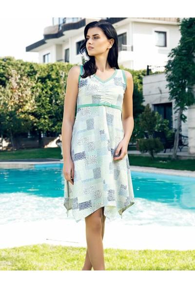 Şahinler Yazlık Kadın Elbise MBP24015-2