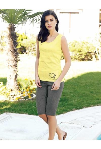 Şahinler Kadın Kapri Takım Sarı MBP24020-2