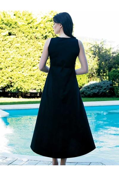 Şahinler Kadın Uzun Elbise Sarı MBP24039-1