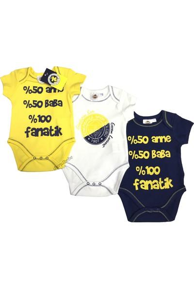 Fenerium Fenerbahçe 3'Lü Body Seti - 1018
