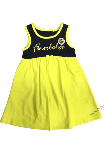 Fenerium Fenerbahçe Kız Çocuk Elbise - 1129